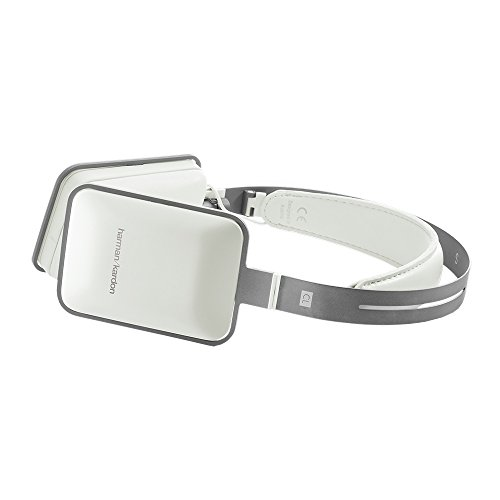 Harman Kardon CL Premium Over-Ear-Kopfhörer mit Mikrofon/Apple iPhone Steuerung weiß