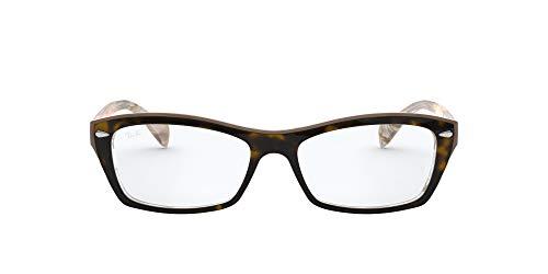 Óculos de Grau Ray Ban Rx5255 5075/53 Tartaruga/bege Transparente