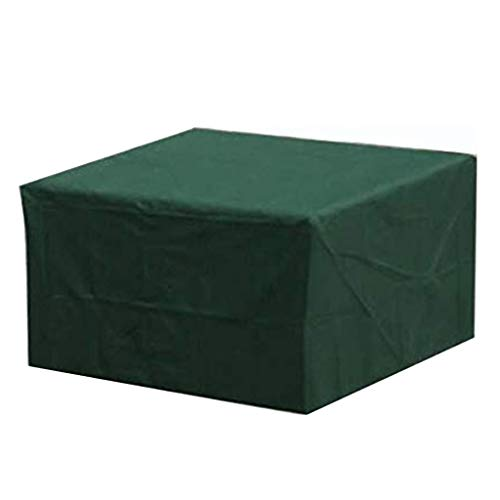 VOVEY Garden Furniture Covers Waterproof Anti-Uv Outdoor Patio Furniture Covers Garden Table Cover Oxford Fabric Rectangular (150 X 150 X 70cm) -Green