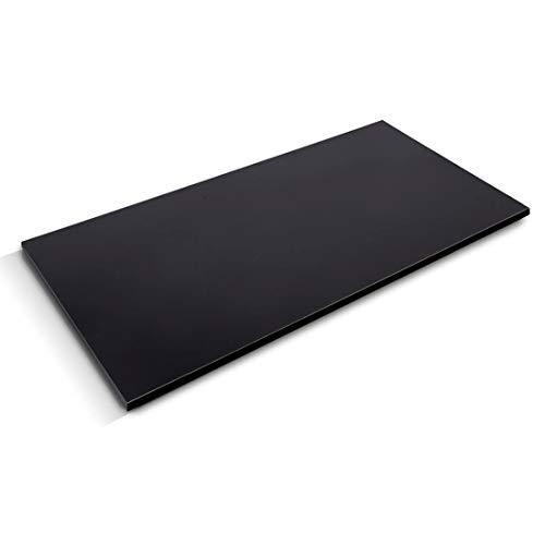 bureaublad ikea zwart
