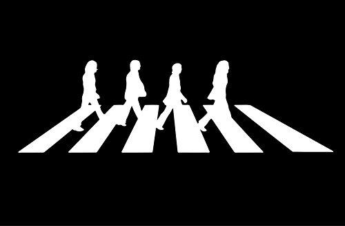 The Beatles - Abbey Road - Car, Truck, Notebook, Vinyl Decal Sticker, 6