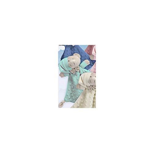 Gamberritos 9353 - Doudou, 23 x 23 cm, color verde