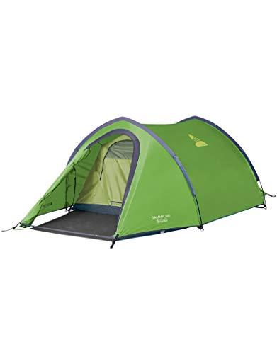 Vango Gamma 300-tent, uniseks, volwassenen, campingtent, camping, Apple Green, 3 personen