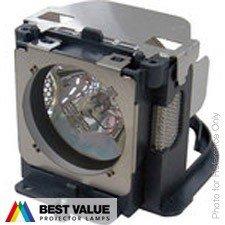 Alda PQ Professionele beamerlamp, reservelamp 610 331 6345, POA-LMP103 voor Eiki LC-XB40 LC-XB40N INGSYSTEM DVM-D60M SANYO PLC-XU100 PLC-XU110 projectoren, merklamp met PRO-G6s behuizing, houder