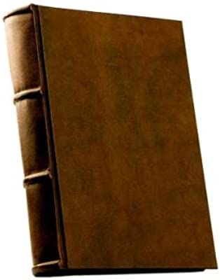 Amazon Com Leather Photo Album Handmade In Italy Premium Quality With 60 Archival Ivory Colored Pages Epica Arts Crafts Sewing