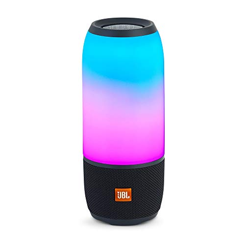 JBL Pulse 3 - Wireless Bluetooth Waterproof Speaker - Black