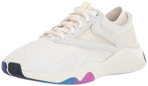 Reebok Women's HIIT Training Shoe Cross Trainer, chalk/Alabaster/Proud Pink, 8.5 M US