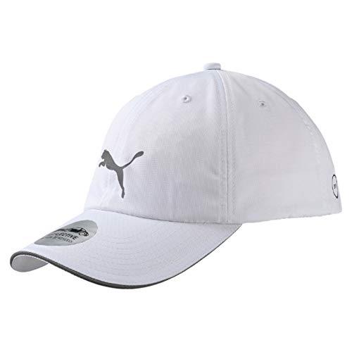 PUMA Erwachsene Unisex Running Cap III Kappe, White, Adult