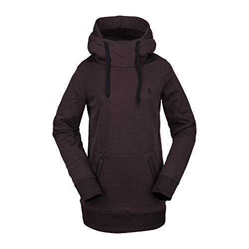 Volcom Polartec Ridin Snow - Sudadera con capucha para mujer - rojo - X-Small