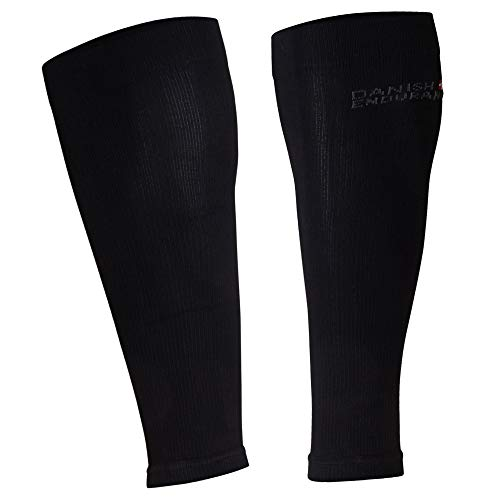 DANISH ENDURANCE Manchons de Compression (Noir,...