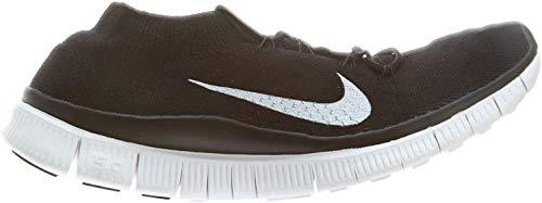 Nike Free Flyknit+ 615806 010 - Zapatillas de correr para mujer, color negro y blanco