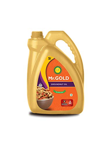 Mr. Gold Groundnut Oil Can, 5L