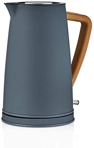 MISS KANG Calentador de Agua Hervidor eléctrico Hogar automático Apagado Apagado Kettle Kettle de Gran Capacidad 304 Calentador de Agua de Acero Inoxidable Pequeño Calentador de Agua Tetera Qingchunw