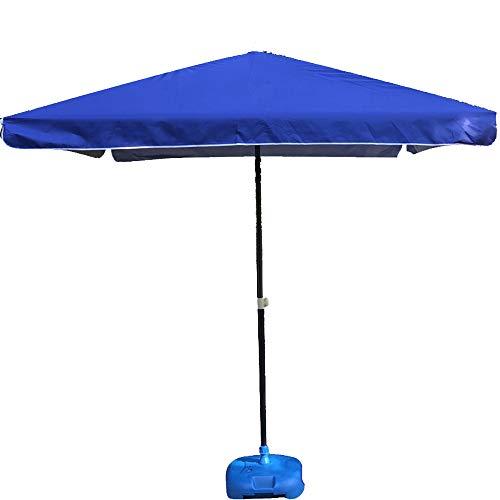 Parasol WYZQQ D'extérieur Parapluie De Cour Carré Pliable Auvent Patio De Jardin Anti-UV/Résistant À La Pluie
