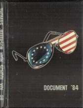(Custom Reprint) Yearbook: 1984 Thomas Jefferson High School - Document Yearbook (Dallas, TX)