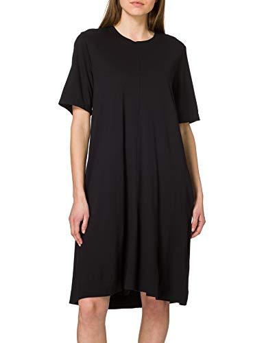 GANT Damen D1. A-line Jersey Dress Kleid, Schwarz, M EU