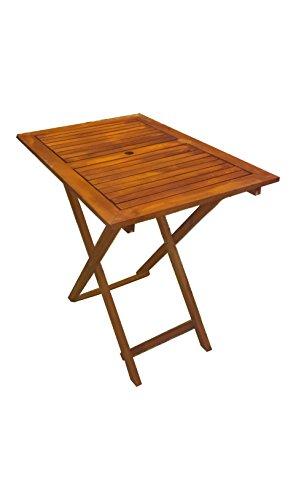 P&J Holzklappbaren tragbaren Tisch (90x60 cm)