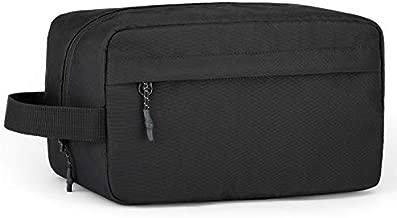 Vorspack Toiletry Bag Hanging Dopp Kit for Men Water Resistant Shaving Bag with Large Capacity for Travel - Black