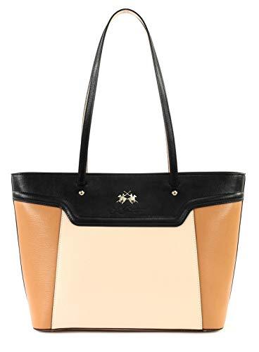 La Martina La Portena Shopping Bag Leder 32 cm