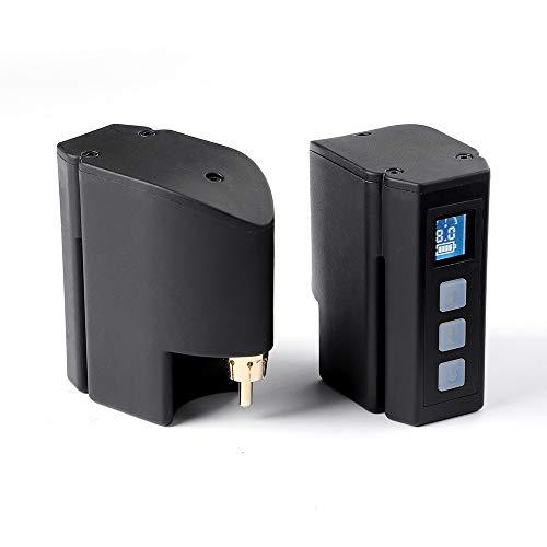 Hawink Mini Tattoo Akku Tattoo Wiederaufladbares USB-Netzteil Digitalanzeige Tattoo Maschine RCA-Anschluss P198-RCA