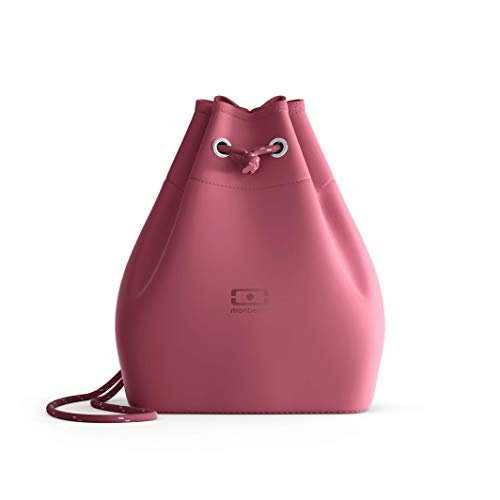 monbento - MB E-zy rosa Blush Klein Kühltasche für Bento Box - Klein Ariaprene Kühltasche für die Arbeit - Geeignet für MB Original MB Square & MB Tresor Bento-Boxen