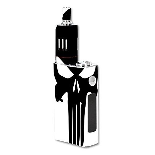 Decal Sticker Skin WRAP Punisher Skull for JoyeTech eVic VT 60W Kit