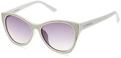 Swarovski Sunglasses Sk0108 21B-59-16-145 Gafas de sol, Blanco (Weiß), 59 para Mujer