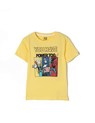 Camiseta, Niños, Amarillo