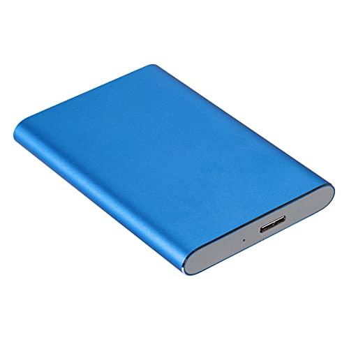 Generic 4TB Elements Hard Disk Esterno Portatile HDD, USB 3.0, Compatibile con Il PC, Nero - Blue