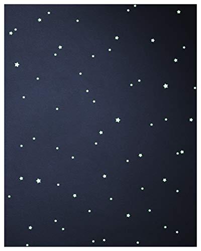 WANDfee ☆ Leuchtsterne ☆☆ 100 ☆ selbstklebende EXTRASTARK leuchtende Sterne Sternenhimmel Aufkleber Kinderzimmer