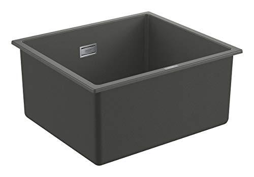 GROHE K700 Unterbau | Kompositspüle | Waschbecken, Küche, granit schwarz | 31654AP0