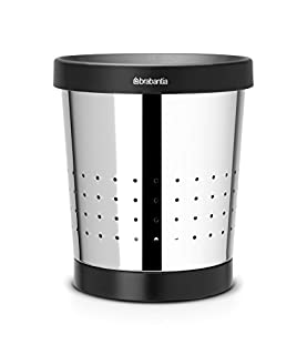 Brabantia Conical Waste Paper Bin with Holes, 5 L - Brilliant Steel (B000ALF3G0) | Amazon price tracker / tracking, Amazon price history charts, Amazon price watches, Amazon price drop alerts