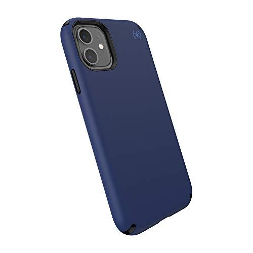 Speck Presidio2 Pro - Custodia per iPhone 11 con rivestimento MICROBAN, blu costiero/nero/grigio tempesta