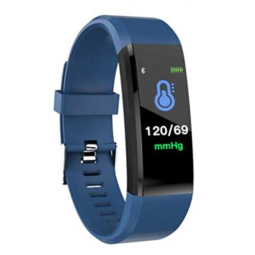 Smart Band Fitness & Activity Tracker with Heart Rate Monitor, Step Counter, Calorie Counter, Pedometer Watch for Women and Men