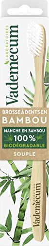 Vademecum - Brosse à Dents en Bambou 100% Biodégradable - Souple