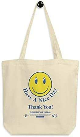 Have a Nice Day, Thank You! Classic Plastic Tote Bag