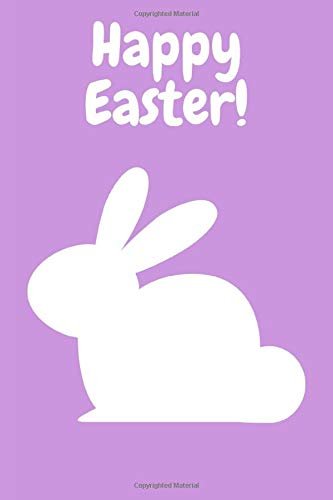 Happy Easter Notebook: Novelty Happy Easter Gift ~Small Lined Notebook