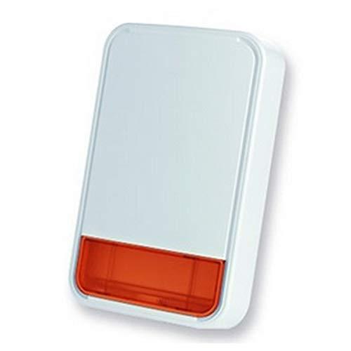 Bentel Security - Sirena de Alarma autoalimentada para centralitas BW Bentel externas con bater - BW-SRO
