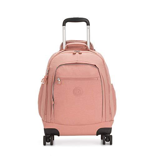Kipling Zea 15' Laptop Rolling Backpack Cocktail Pink