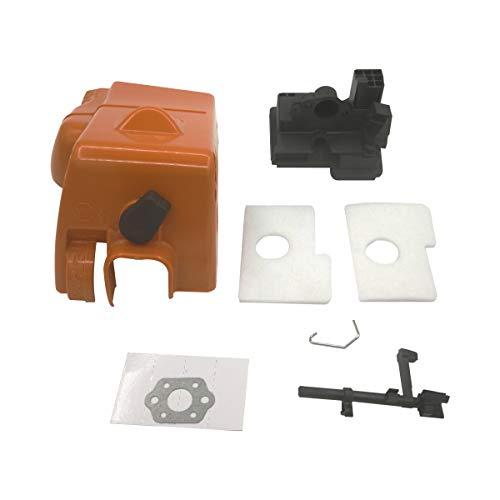 Cancanle doek bovenste cilinder filter afdekking schakelaar as motorluchtinlaat behuizing voor STIHL 017 018 MS170 MS180 motorzaag