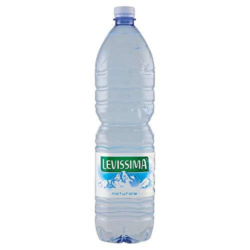 LEVISSIMA, Acqua Minerale Naturale Oligominerale Bottiglia Grande da 1,5L x 6