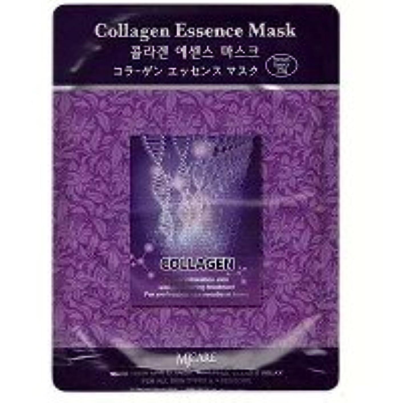 損なう再現する協同MIJIN MJ-CARE コラーゲン エッセンスマスク 23g 1枚入り