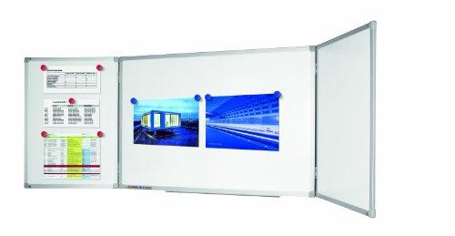 Legamaster 7-100263 Economy Klapptafel, lackierte Whiteboardoberfläche, 100 x 150 / 300 cm