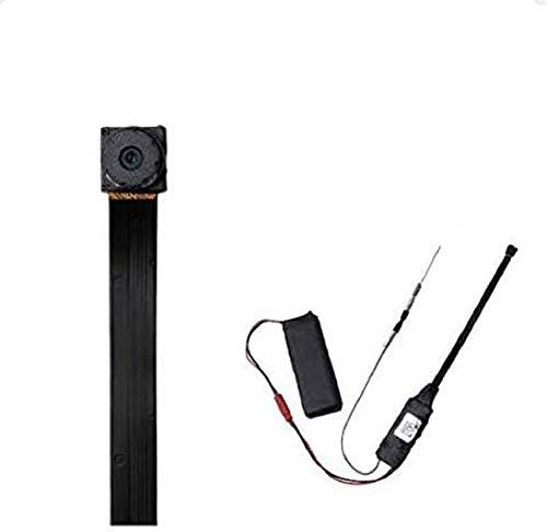 Cámara Espía WiFi LXMIMI HD 1080P Spy Mini WiFi Cámara Portátil Inalámbrico con Batería Recargablea y Detección de Movimiento WiFi 2.4 GHz