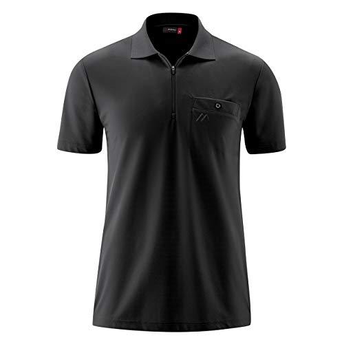 Maier Sports Arwin 2.0 Polo à manches courtes XL noir