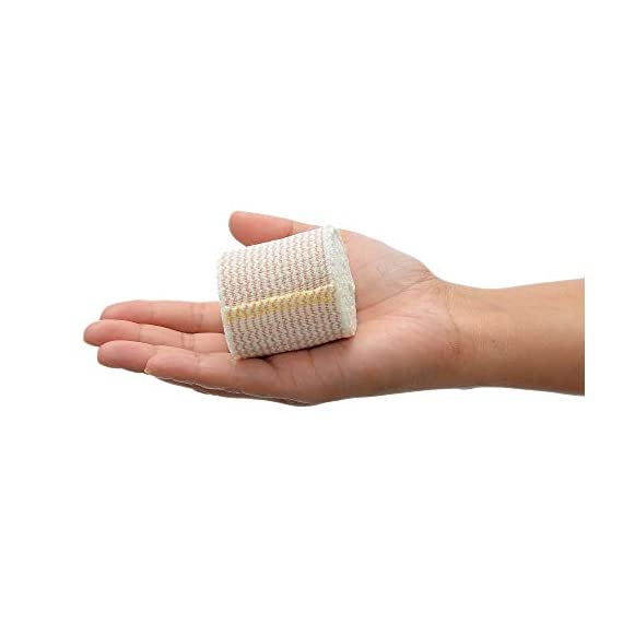 """Dealmed 10 Pack 2"""" Elastic Bandage Wrap with Self-Closure, Comfort Compression Roll, 4.5 Yards Stretched 4 PACK OF COMPRESSION WRAPS 