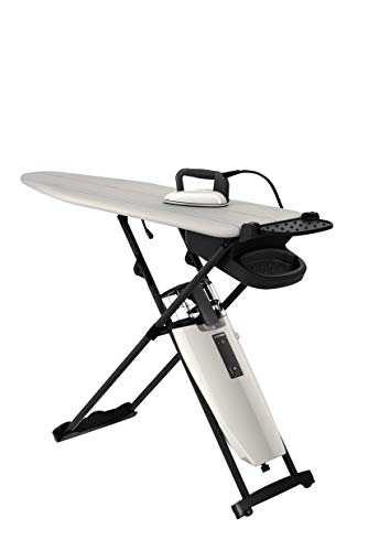 Laurastar Smart I All-In-One Ironing System: Dry Microfine Hygienic Steam, Professional Iron with Active Board for Fast, Professional Results