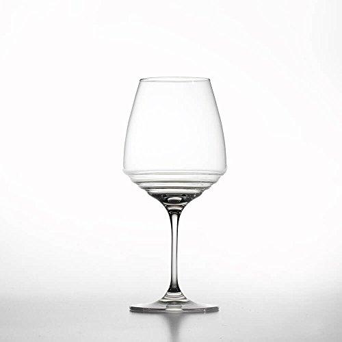 Zafferano Set 6 Esparaienze Copa de Vidrio para Vino Amarone y Pinot Noir