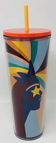Starbucks Pride 2020 Trinkbecher-Kollektion Venti, 24 oz. regenbogenfarben