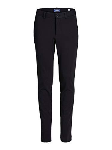 JACK & JONES Jungen JPRSTEVEN Trouser NOOS JR Anzughose, Schwarz (Black Black), (Herstellergröße: 146)